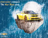 Chevrolet Camaro Advertising Design