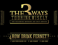 ¿How Drink Fernet?
