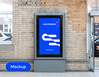 Digital Lightbox 01 | Signage Mockup Template