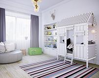 Large children's room