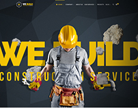 We Build - Construction, Building Premium WP Theme