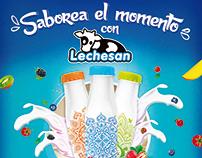 Saborea el momento con Lechesan