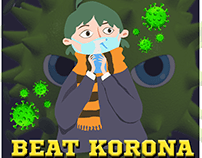BEAT KORONA - DESKTOP GAME DESIGN