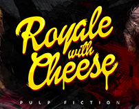 'Royale with Cheese' - Pulp Fiction Alternative Poster