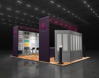 Exhibition Space Render