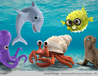 Deep Sea Discovery Creatures