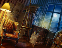 Ilustrations for HOPA games