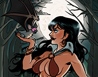 Vampirella Color Sample