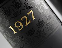 """Diseño etiqueta de vino """"1927"""""""