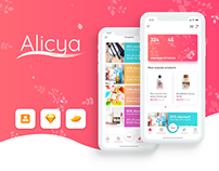 Alicya - retail application