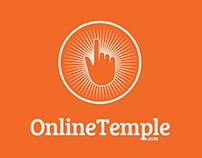 OnlineTemple - Identity + Packaging + Web