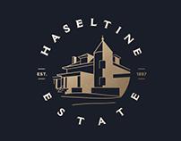 Haseltine Estate Branding for Wedding Venue