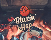 Blazin' Hop brewery | Branding