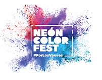 Logo Neón Color Fest