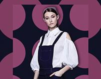 SS'15 ANNA YAKOVENKO fashion poster campaign