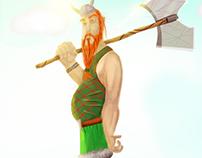 Haldor (Viking) // Character Design