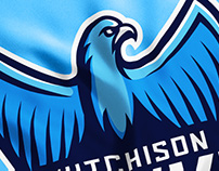 Hutchison Hawks Sports Logo  & Identity Design