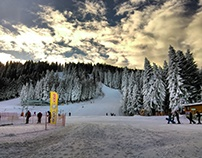 landscape of borovets