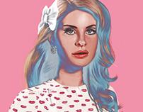 LANA DEL REY | digital painting