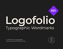 Logofolio 001 - Typographic Wordmarks
