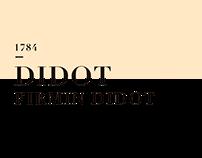 didot newspaper