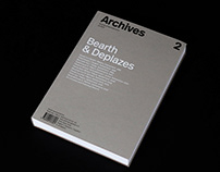 Archives. Journal of Architecture #2
