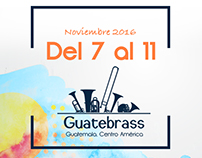 Music Adversiting Guatebrass 2017