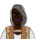 Character Design: Sylvia