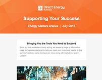 Energy eNewsletter Template