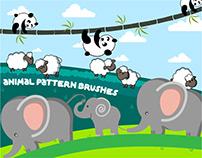 Animal Pattern Brushes for Illustrator
