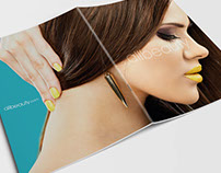 Brochure for All Beauty Salon