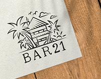 Bar 21 - Logo Design