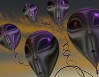 Textured balloons