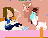 Animated Shorts - Telcel Christmas Ads(Bocanada Studio)