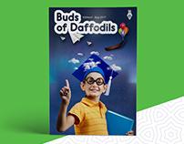 Buds Of Daffodils - Magazine Layout