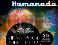 Concert Poster: Namanada & Sacral Crown