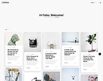 Caprisa - Personal WordPress Theme by Awsm Themes