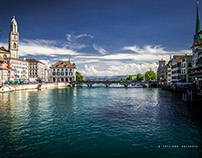 Summer Zurich panoramas