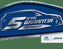 Hyundai - garantia - Badge