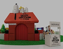 Cenografia Shopping Snoopy