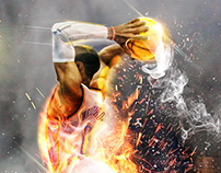 "Russell Westbrook ""Beast Mode"" Artwork"