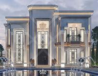 Luxury new classic villa