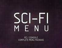 Sci-Fi Menu | Unity Asset Store