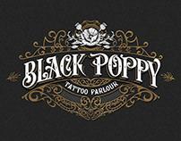 Black Poppy Tattoo Parlour logo