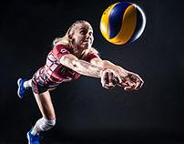 Louves de Saint dié - Volley ball Elite femme