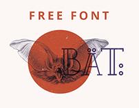 BAT/MURCIÉLAGO | Free Font
