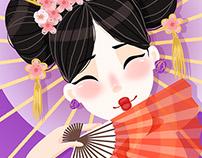 Character Design Challenge - Geisha