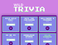 Wild Trivia - Frontend Dev + Design with ReactJS