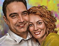 Digital Art Portrait