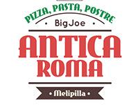 Creación de Marca, Antica Roma, Pizzeria Italiana.